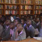 Filme é exibido em mais uma escola do Quênia